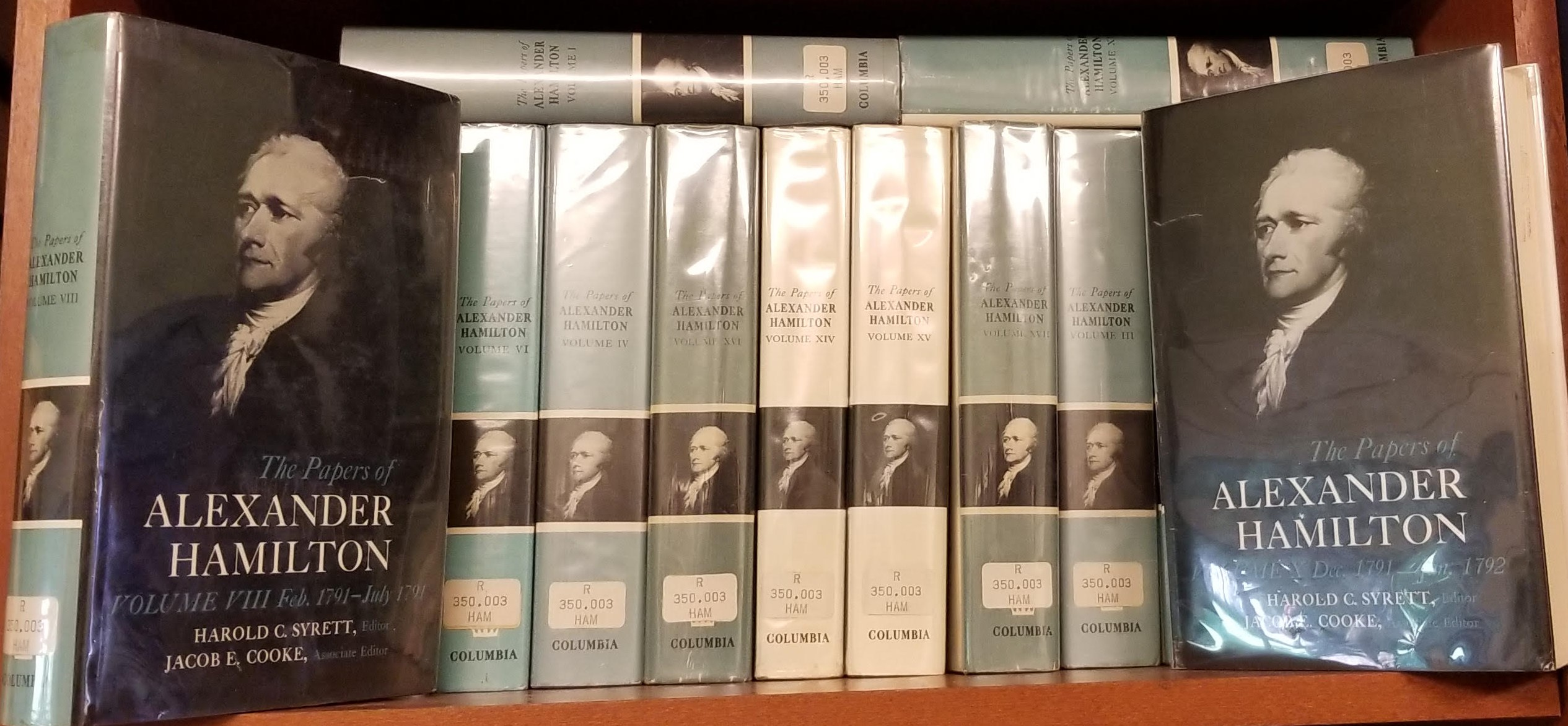 Image for The Papers of Alexander Hamilton  17 Volumes